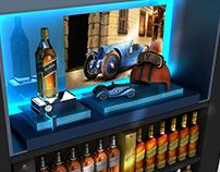 Johnnie Walker Blue Label Stand & Display Designs