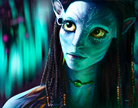 Neytiri Illustration