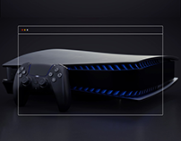 PlayStation 5 — website redesign