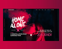 Home Alone — Landing Page & Marketing