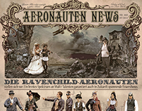 Advertising Newspaper Steampunk