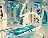 SciFi Laboratory Interior 3D Model