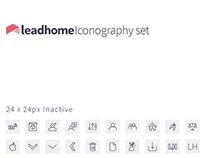 Leadhome Iconography Set