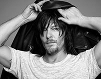 Norman Reedus: Retouching