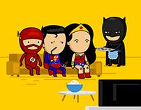 Liga de la Justicia - Warner Channel LA