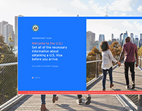 US Visa Application Redesign