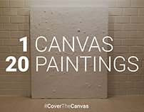 1 Canvas 20 Paintings #CoverTheCanvas