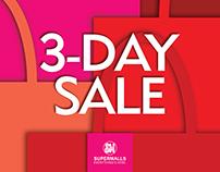 SM 3 Day Sale 2017 Campaign