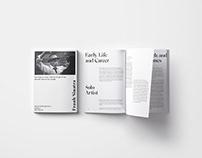 Frank Sinatra -Editorial project