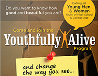 Youthfully Alive Program poster