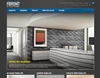 Fibronit Corporate Website, 2014
