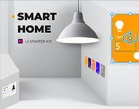 SMART HOME UI starter Kit