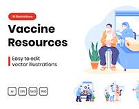 M313_ Vaccine Resources Illustrations