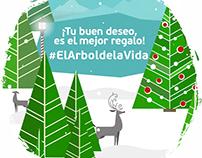 #ElArboldelaVida - Seguros falabella
