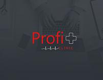 Profi plus - Clinic Web design