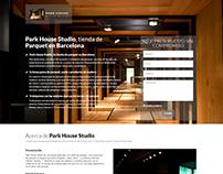 Campaña SEM y Landing Page - Park House Studio - 2015