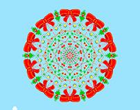 Winter Mandala with Adobe Photoshop CC