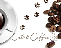 Development of corporate identity and logo for a coffee