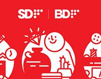 SDF Design Festival Main Visual work
