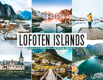 Free Lofoten Islands Mobile & Desktop Lightroom Presets