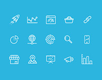 SEO icon set freebie