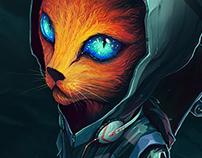 Urban kitty