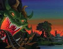 Dungeons & Dragons Minimalist Illustrations