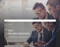 Spark - Onepage Corporate Template