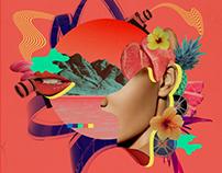 San Diego Latino Film Festival Illustration Poster