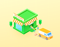 Isometric Delivery