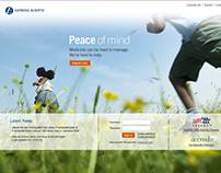 Express Scripts Public and Member Homepage Redesign