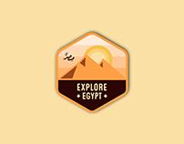 Explore Logo Badge