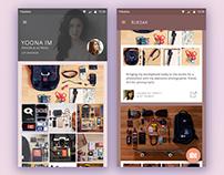 Concept App / RukSak: Share Your Stuff