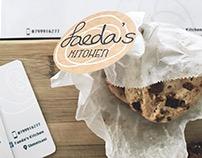 Faeda's kitchen branding