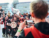 PSV Eindhoven's title celebrations