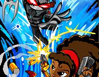 Black Manta vs Misty Knight