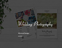 Wedding photography Flyer