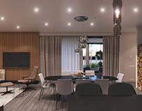 Semorad. Living room
