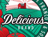 Delicious Brand Logo type