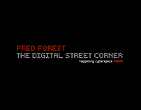 Webdesign FRED FOREST the digital street corner