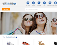 PostShopSave USA Cashback Project by iLeadDigital