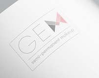 GEM Semi-permenant makeup logo and price list