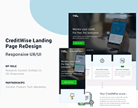 CreditWise Landing Page