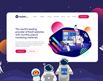 Rocket SaaS - Website Design