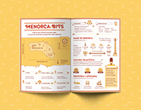 Menorca Infographics for Apunt Magazine