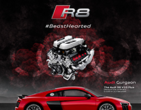 Audi #BeastHearted | Social Media Campaign