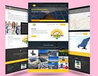 Punjab solar system Website