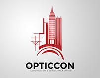 Opticcon Construction Ltd. Branding