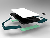 Device for elderly people - Industrial design 3D