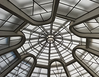 The roof of the Guggenheim